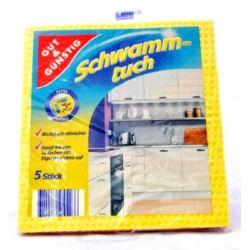 G&G SCHWAMM-TUCH GĄBCZASTE ŚCIERKI KUCHENNE 18x20